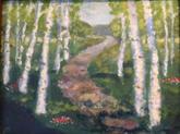 """""""Birch Path"""" $160"""