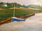 """Boat on Mill Pond""  
