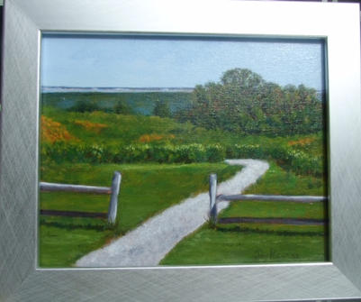 Path on Fort Hill  |  $195