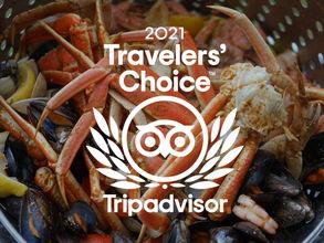 We're a 2021 TripAdvisor Traveler's Choice Award Winner!