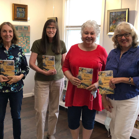 """A """"poem-athon"""" produces a book: Pebbles in the Stream"""