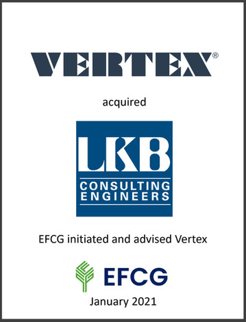 Vertex, LKB Consulting Engineers, EFCG