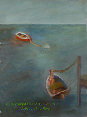 Two Boats   |  SOLD @ $250