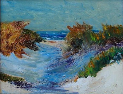 """Path to the Beach"" $350.00"