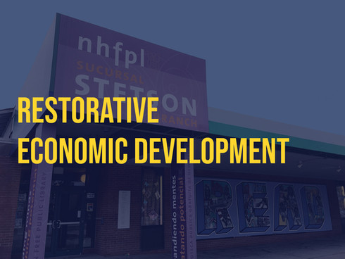 RESTORATIVE ECONOMIC DEVELOPMENT