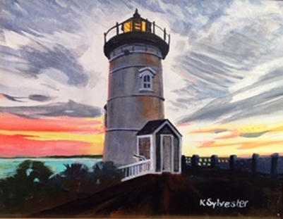 Nobska Light at Dusk | $250