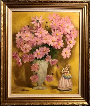 Lara's Cosmos in Pink | $400
