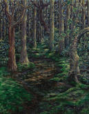 """""""Lost in the Red Maple Swamp"""" 