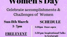 Bringing the community together for International Women's Day