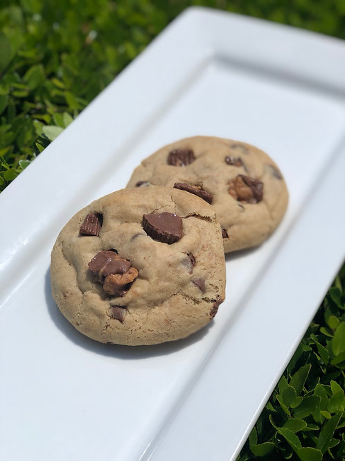 Vegan Stuffed Cookies