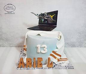 עוגת בר מצווה בעיצוב אישי