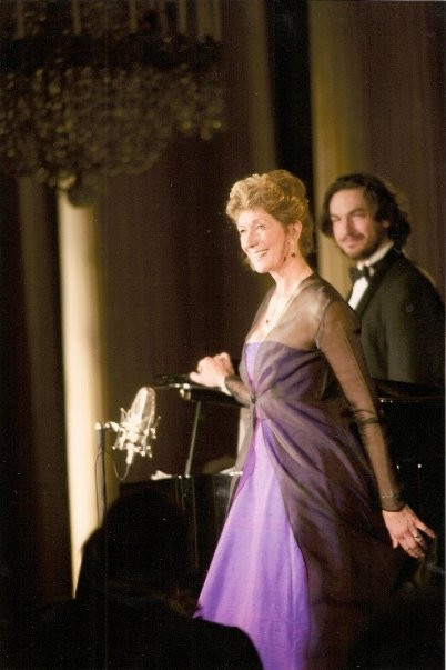 With Dame Felicity Lott