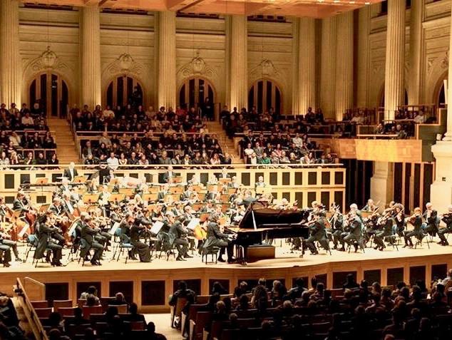 Sala Sao Paulo with Babmberg Orchestra