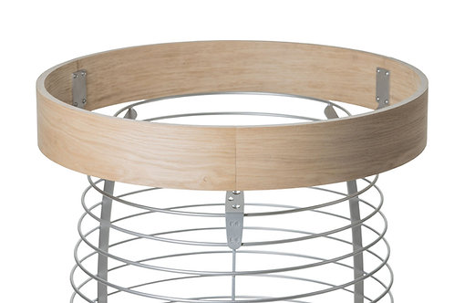 Safety railing for HIVE 12, 15, and 18 kW sauna stove by HUUM