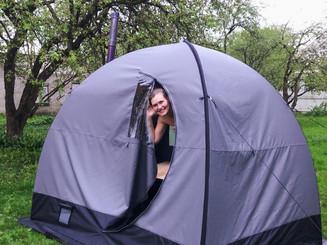 EcoSauna tent