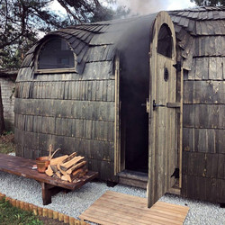 The smoke sauna