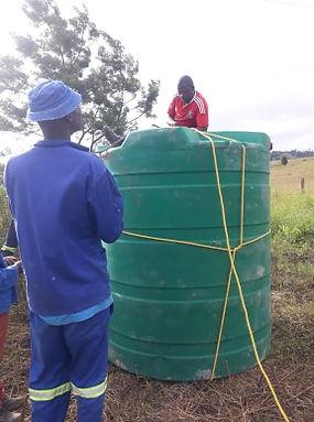 Water tank arrives.jpg