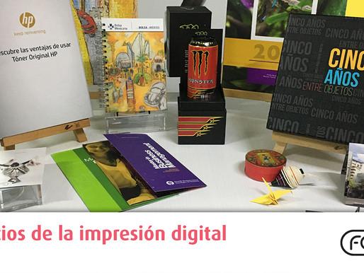 Beneficios de la impresión digital