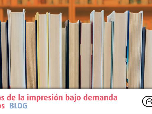 Ventajas de la impresión bajo demanda de libros