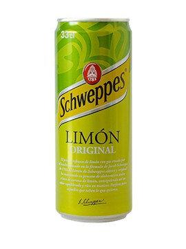 LIMON SCHWEPPES LATA 330cc C/24