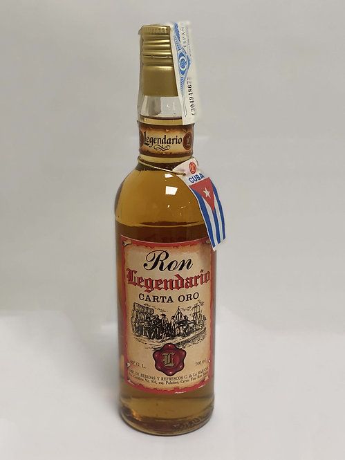RON LEGENDARIO CARTA ORO 70 cl. und.