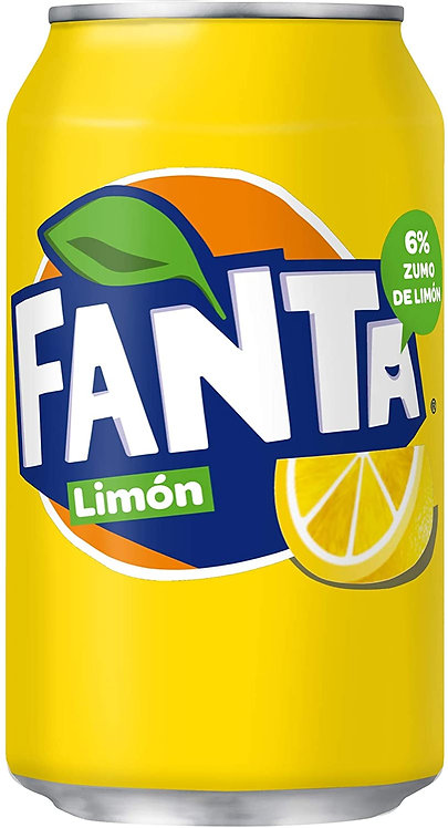 FANTA LIMON LATA 330cc C/24