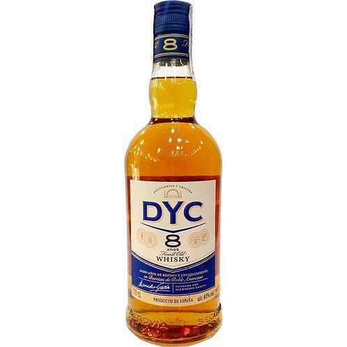 WHISKY DYC RESERVA 8 AñOS 70cl