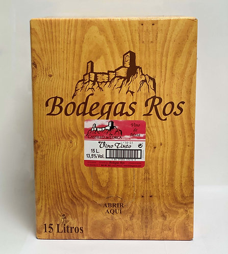 BAG IN BOX 15L. JUMILLA TINTO