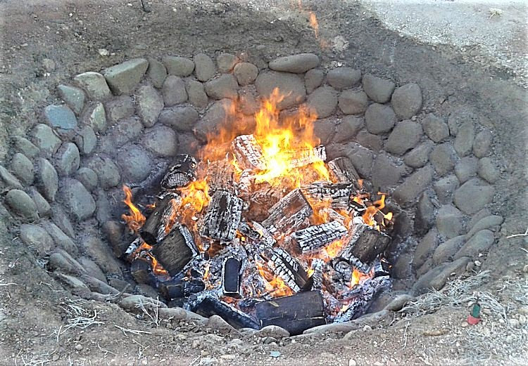 Barbecue Firepit