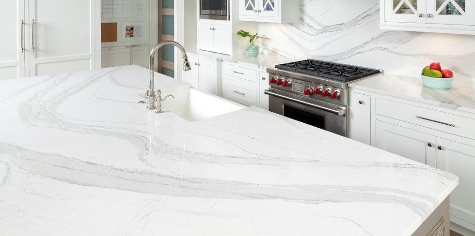 Cambria Brittanica Quartz kitchen countertops