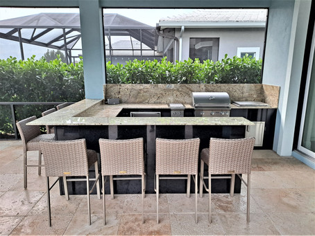 Outdoor Kitchen Jewel at The Isles of Collier Preserve, Naples