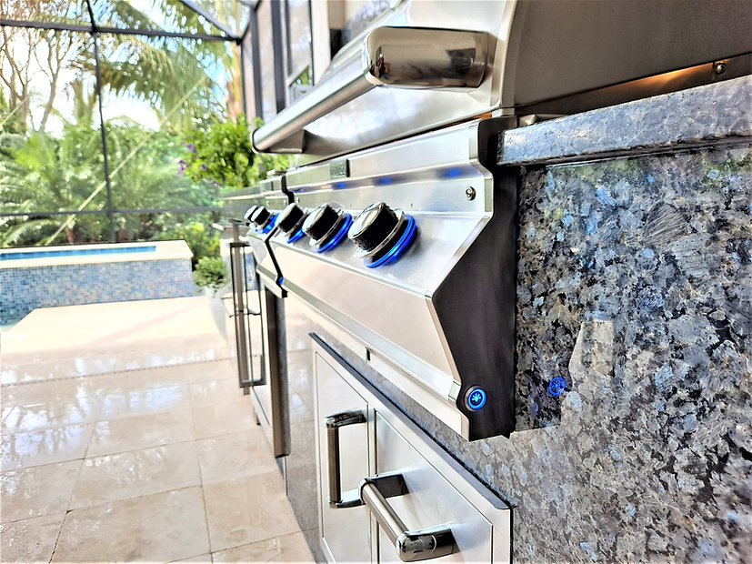 Outdoor Kitchen Appliances, Alfresco, Fire Magic, Blaze, AOG, Perlick, Marvel