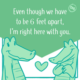 Right here with you - Design