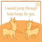 Jump through hoops - Design