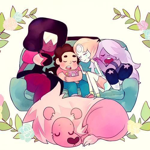 Steven Universe Couch Nap