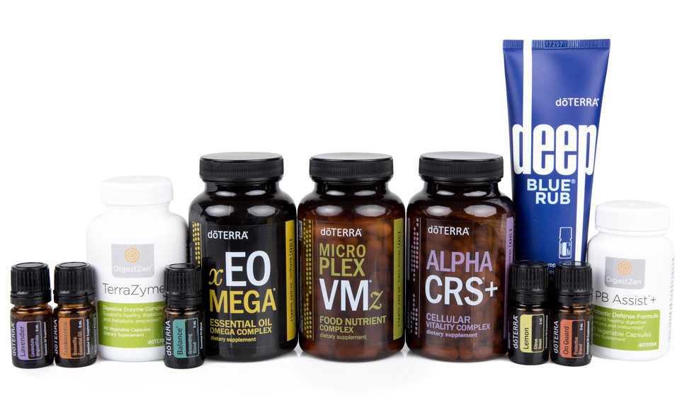 doTERRA's 30 Day Healthy Habits Challenge