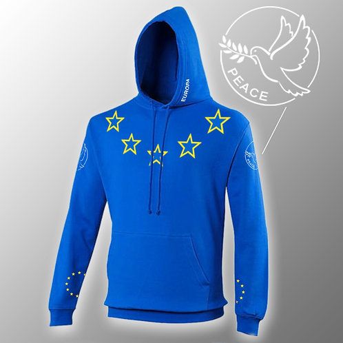 Pro EU Ultimate Hoodie | Flag Fashion | Europe | Clothing | Apparel | Gifts | Merchandise | European Union | Anti Brexit