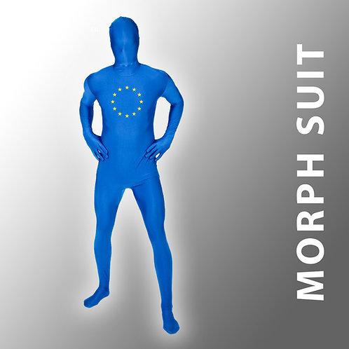 Pro EU Morph Suit | Anti Brexit Merchandise | European Union Gifts | Costume