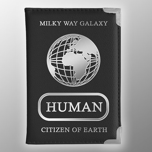 Human Passport Cover | Citizen of Earth | Milky Way Galaxy