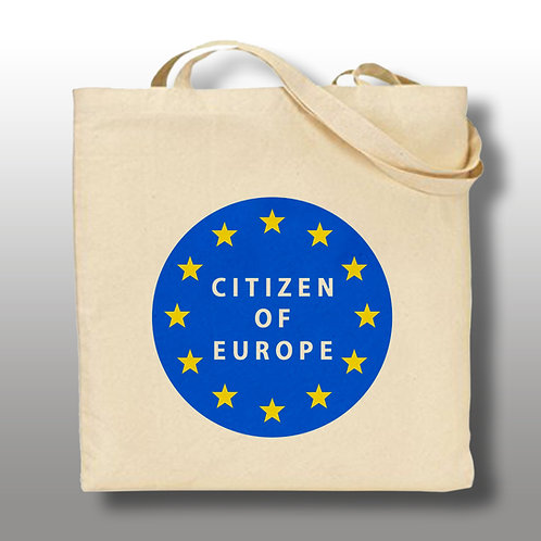 'Citizen of Europe' Tote Bag