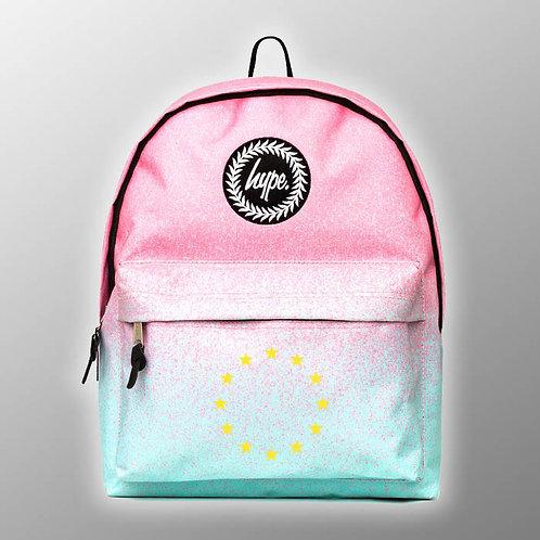Pro-EU 'Pink and Blue' BackPack | Anti Brexit Merchandise | Pro EU Merchandise | European Union Bag