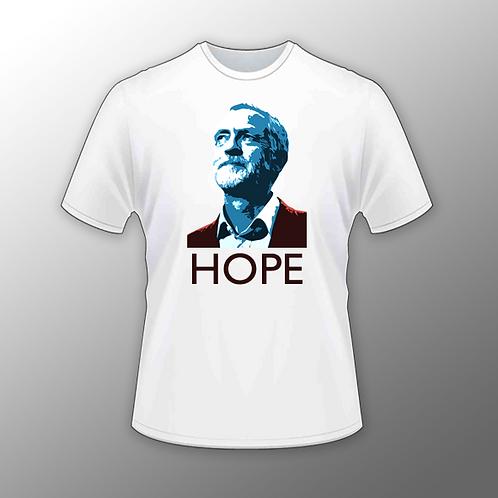 Jeremy Corbyn 'Hope' T Shirt