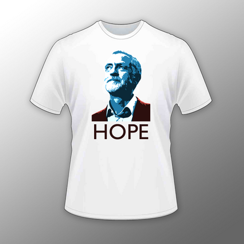 cb3f33386 Jeremy Corbyn 'Hope' T Shirt