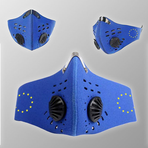 Pro Eu Cycling Filter Face Mask
