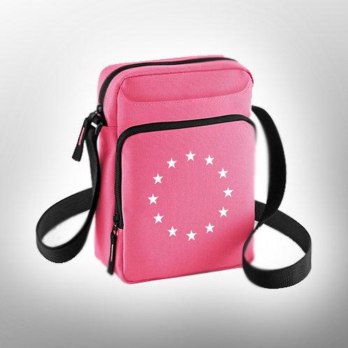 Pro EU Bag | Pink Across Body Bag | European Union Merchandise | Remain Gifts | Stop Brexit Shop | Europe Merch