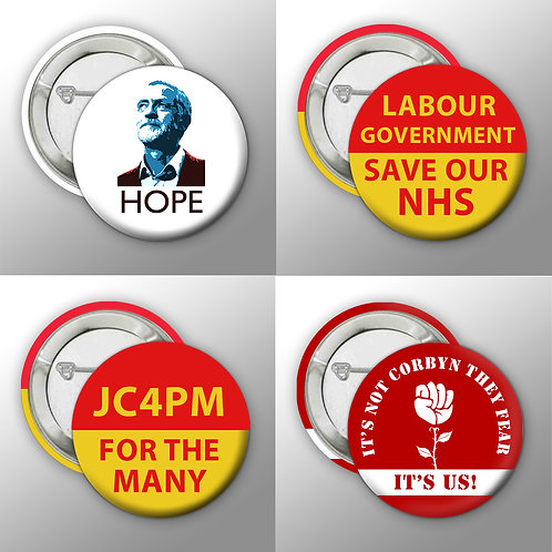 JC4PM Button Badge Collection
