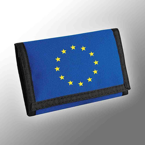 Pro EU Flag of Europe Wallet | European Union Merchandise | Remain Gifts | Stop Brexit Shop | Europe Merch | Money | Euro