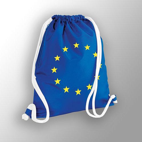Pro EU Drawstring Bag | Flag of Europe | Anti Brexit Merchandise