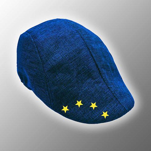 Pro EU Flat Cap / Beret | Anti Brexit Merchandise | Stop Brexit Clothing | Let Us Be Heard March | Remain