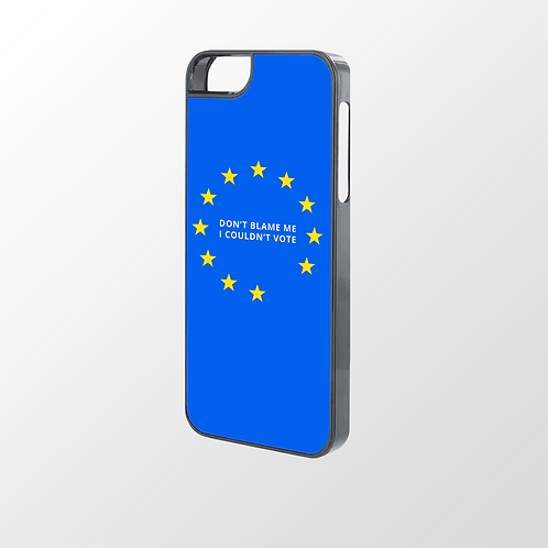 Don't Blame Me, I Couldn't Vote Phone Case